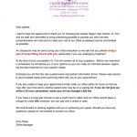 niskayuna vein doctor welcome letter